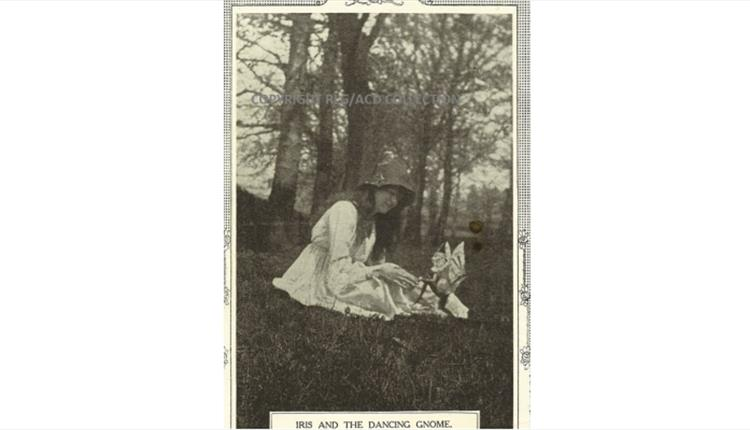 Iris and the Gnome from The Cottingley Fairies